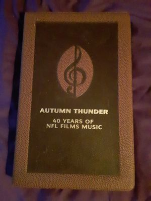 Autumn Thunder; 40 Years of NFL Films Music for Sale in Las Vegas, NV