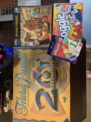 Lot 4 board games for Sale in Chandler, AZ