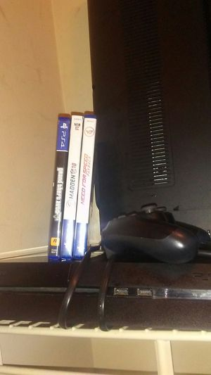 Ps4 with gta 5, madden 18 , need for speed for Sale in Atlanta, GA