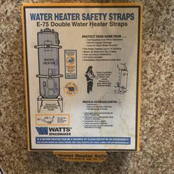 Water Heater Safety Spraps( WATTS) for Sale in Palm Desert,  CA