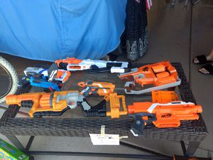 NERF GUNS! All shown here for only $25.00! for Sale in Scottsdale, AZ