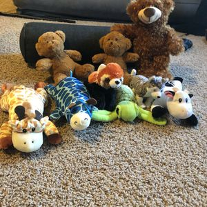 Plushie 9pc Pack for Sale in Plainfield, IL