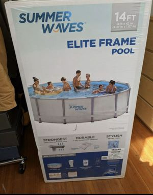Summer waves 14ft pool for Sale in Houston, TX