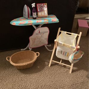 Pretend Laundry Set With Ironing Board for Sale in Swedesboro, NJ