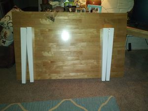 White and wood kitchen table for Sale in Strongsville, OH