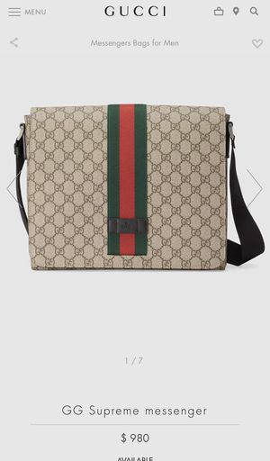 GUCCI Bag Messenger- for men. for Sale in San Diego, CA
