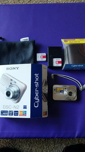 Sony DSC-N2 Digital Camera 10.1 MP bundle for Sale in Fremont, CA