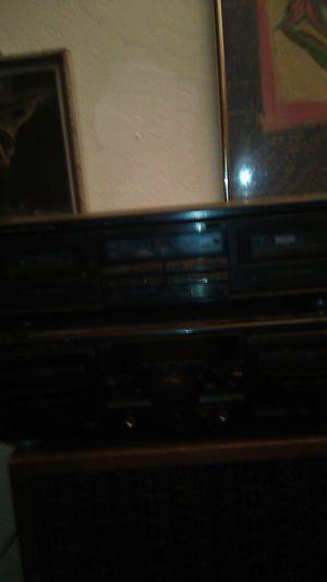 Cassette recorders dual cassette play for Sale in Modesto, CA