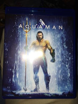 Aquaman Blu-ray for Sale in Acampo, CA
