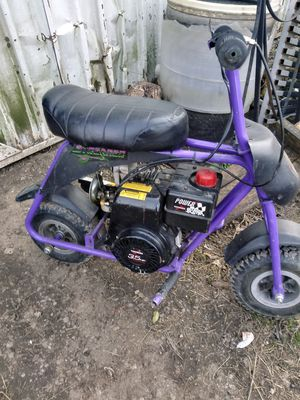 Mini bike 3 1/2 horse power for Sale in Tulsa, OK