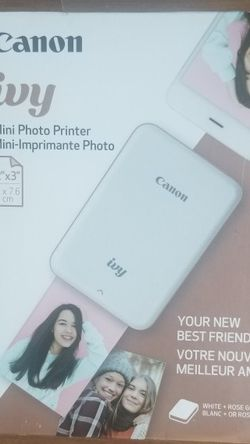 Canon IVY Mini Photo Printer - Rose Gold, New! for Sale in Aurora,  CO