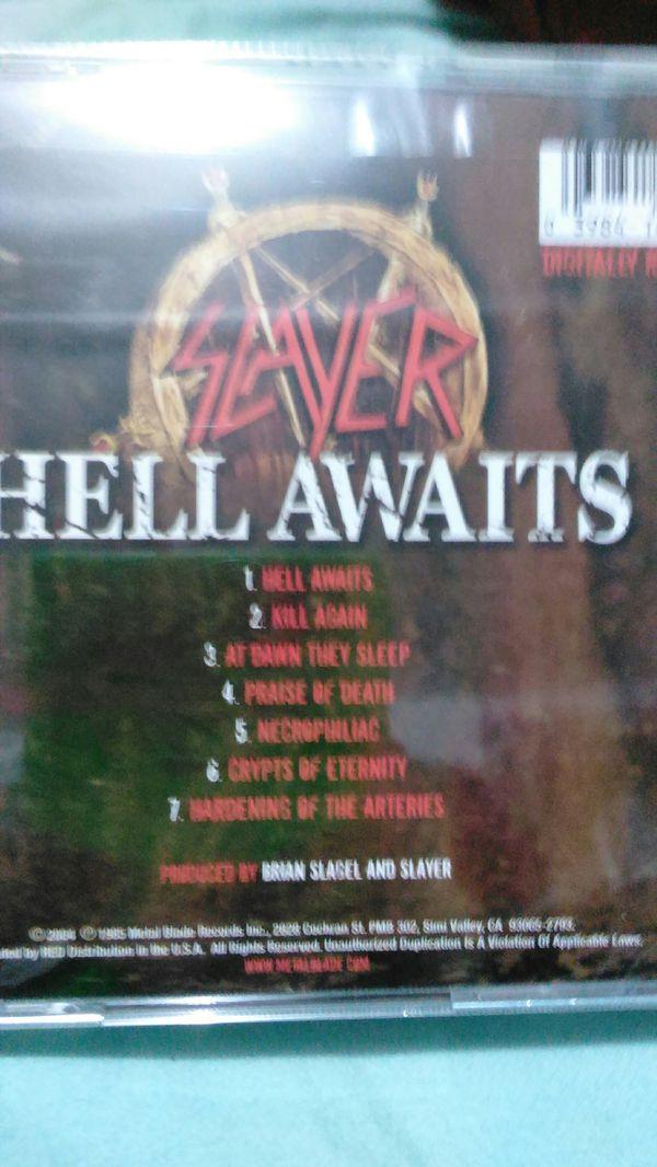 Slayer- Hell Awaits