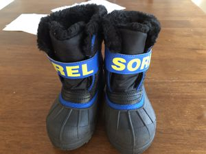 Sorel kid snow boot for Sale in Sterling, VA