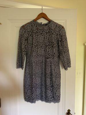 Gray Dress Forum long sleeve dress for Sale in UPPER ARLNGTN, OH