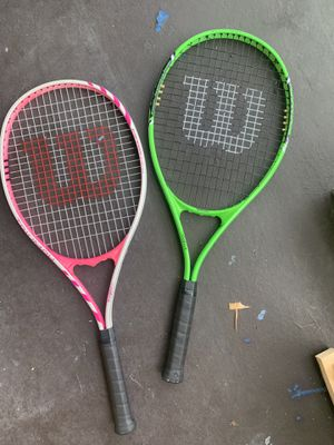 2 for $10 Tennis rackets for Sale in Miami, FL