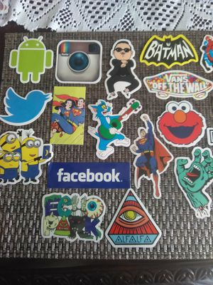 Stickers, skateboard, laptop, refrigerator for Sale in Compton, CA