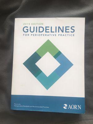 Guidelines for Perioperative practice for Sale in Pompano Beach, FL