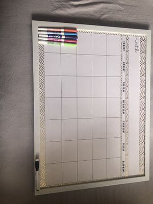 Dry Erase Monthly Calendar for Sale in Paramount, CA