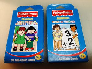 Fisher Price Learning Cards for Sale in Tampa, FL