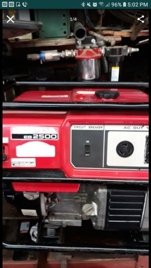 "Honda eb2500 - Generator ,"" very good condition ! for Sale in Galt, CA"