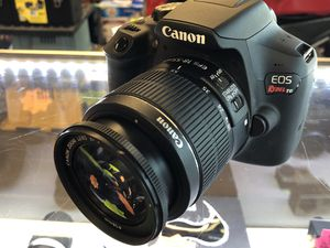 Canon EOS Rebel T6 with EFS Lens, Charger and Bag for Sale in Woodstock, GA
