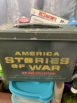 America stories of war and grey's anatomy second complete series for Sale in Santa Clara, CA