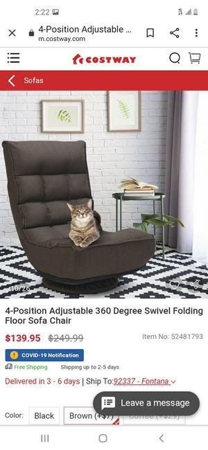 Swivel folding chair for Sale in Fontana, CA