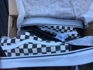 vans checkerboard old skool ds sz 8.5 for Sale in Seattle, WA