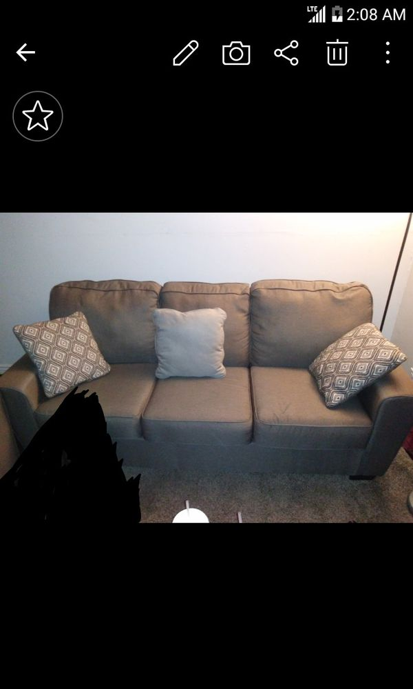 Ashley furniture couch and love seat (LIKE NEW)