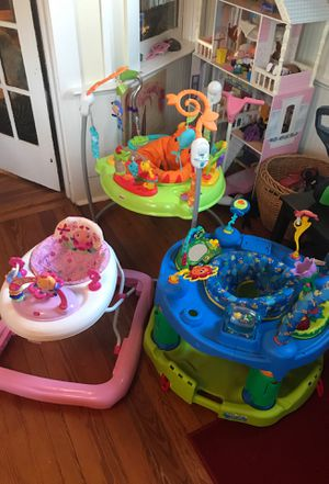 3 Baby Jumper, Bouncer Seat, Walker, ExerSaucer Educational Activity Centers LOT OF 3 for Sale in Gainesville, FL