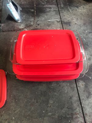 Pyrex bake dishes for Sale in San Jacinto, CA