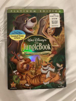 Walt Disney the jungle book platinum edition on DVD for Sale in Norwalk, CA