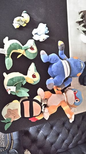 Pokemon plushie lot for Sale in Gilbert, AZ