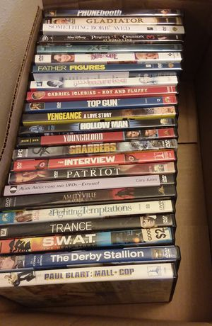 Box of dvds for Sale in Manchester, PA