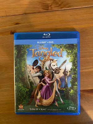 Disney's Tangled Blu-Ray & DVD for Sale in Davie, FL
