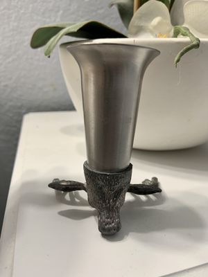 Jagermeister 10 Point Stag Collectible Pewter Shot Glass for Sale in Alta Loma, CA