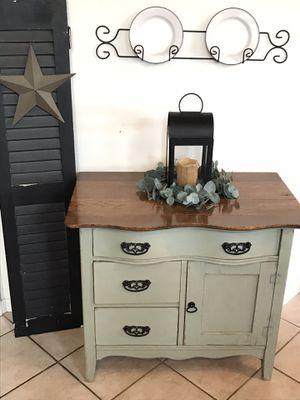 Antique oak wash stand for Sale in Ephrata, PA