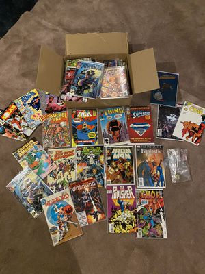 Marvel, DC etc new comics in sleeves for Sale in Plainfield, IL