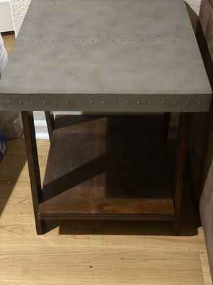 Grey & Brown Living Room End Tables for Sale in San Ramon, CA