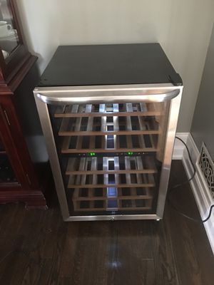 Stainless Steel Wine Refrigerator for Sale in Silver Spring, MD