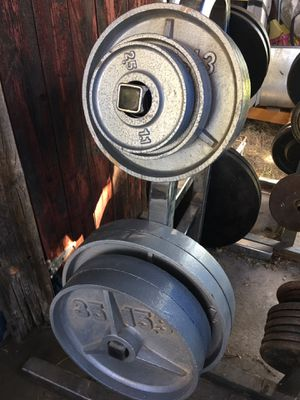 "$120!! 225 lbs! Olympic weights / 2"" hole plates!! for Sale in Phoenix, AZ"