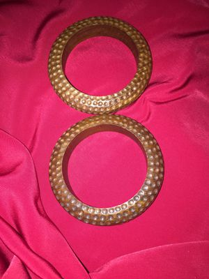 Vintage Wooden Bangle Bracelets for Sale in Clearwater, FL