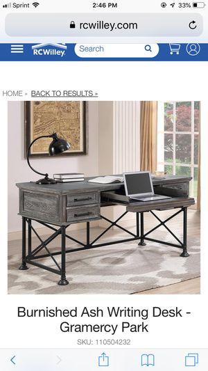 Parker house gramercy park desk filing cabinets book shelf brand new! for Sale in Henderson, NV