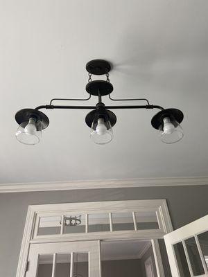 Bronze light fixture for Sale in Fuquay-Varina, NC