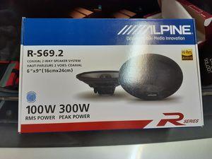 Alpine Type-R 6x9 Speakers. for Sale in Chula Vista, CA
