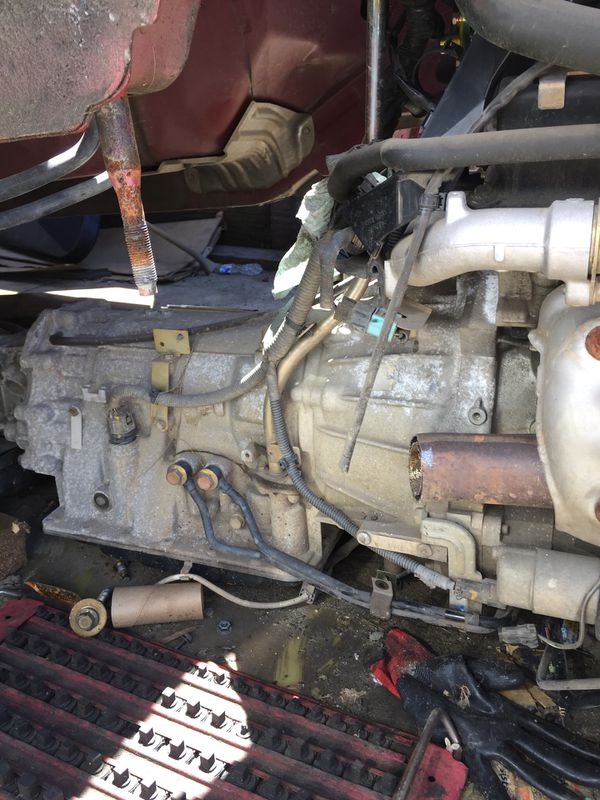 05 Infiniti g35 coupe automatic transmission with 130,000 miles on it
