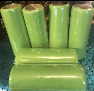 6 Rolls( Lime Green) Tulle Spools 15 Yards , 6 Inches Per Roll . Wedding Decorations .Bridal.Tutu. All For $7 for Sale in Middleburg, FL