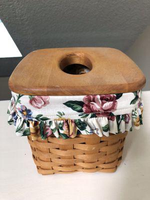 Vintage Longaberger Tissue Basket SIGNED 1996 for Sale in Portland, OR
