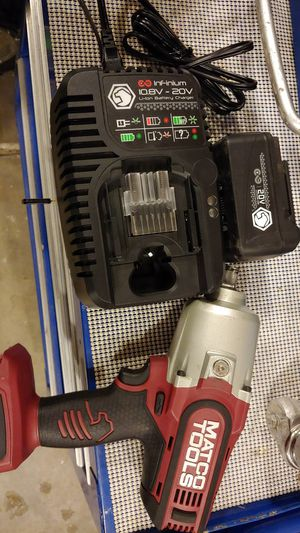 Matco 1/2 cordless impact wrench kit for Sale in Hesperia, CA
