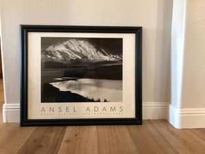 Ansel Adams Mount McKinley and Wonder Lake authorized edition for Sale in San Diego, CA